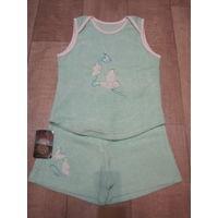 Новая пижама для девочки на рост 122-128 см