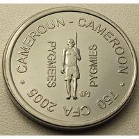 Камерун. 750 франков 2005  год  X#25