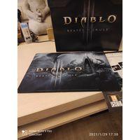 Коврики для мыши из Collectors  Edition Blizzard Diablo WOW Starcraft