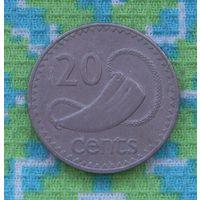 Фиджи 20 центов 1981 года. Инвестируй в коллекционирование!!!