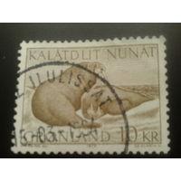 Дания Гренландия 1973 моржи