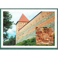 БЕЛАРУСЬ  1998 г. открытка  Крепость  в  Лиде
