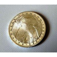 Германия 5 марок 1978г.  225-лет смерти  Балтасар Ньюман., серебро