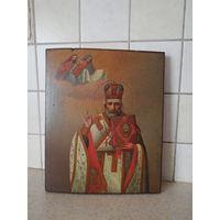 Икона Николай Чудотворец Зимний.
