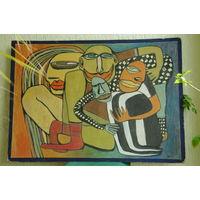 "Картина   "" Шапито ""  , худ.  Н.Годун  ( 110 х 80 )"