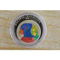 Палау 5 долларов 2006     Голограмма