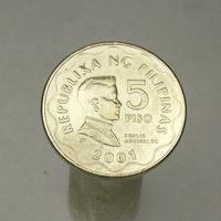 Филиппины 5 песо 1993