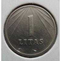 """Литва 1 лит 1991 """"Герб"""""""
