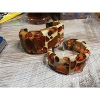 Янтарные браслеты