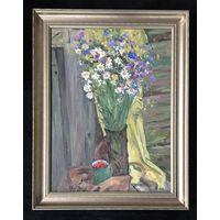 """Лихоненко Н.И. """"Полевые цветы"""";45/60 см;х/м"""