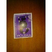Польша 1964.  Космос серия 1м