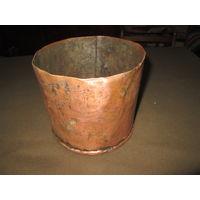 Мерная медная кружка ёмкость 2 литра.19 век.