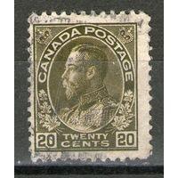 Канада. Михель- 98-А. (1912 год). Гашеная.