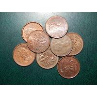 1 цент Канада 8 штук