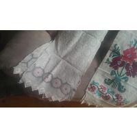 Старинный льняной рушник.