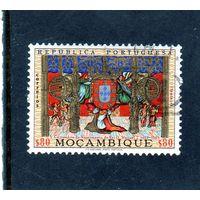 Мозамбик. Ми-551.Королевский герб. Серия: К 500-летию короля Мануэля I.1969.