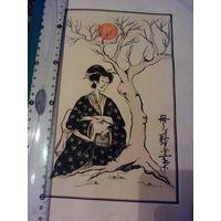 Японская гравюрка