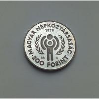 ВЕНГРИЯ  200 форинтов 1979 г.