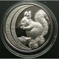 Андорра. 10 динаров 1992. Серебро. Пруф. 057