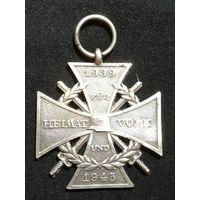 """Крест """"1939-1945"""". Германия, ВМВ."""