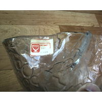 Салатница-Конфетница или для фруктов-прозрачная-Пр-во фабрики Нёман