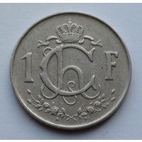Люксембург 1 франк. 1953