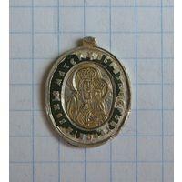 Образок православный, царский. Серебро, остатки эмалей.