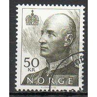 Король Норвегия 1992 год серия из 1 марки