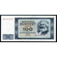 ГДР. 100 Марок 1964 года. P26, UNC