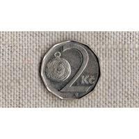 Чехия 2 кроны 2003