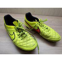 Бутсы Nike Tiempo GENIO LEATHER, кожаные