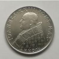 Ватикан 100 лир 1962 г