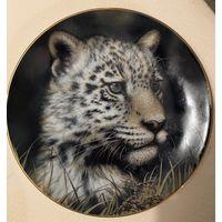 Коллекционная декоративная тарелка Fine Porcelain 1992г.