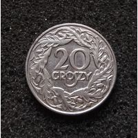 Польша, 20 грошей 1923
