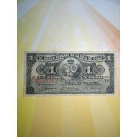 Куба 1 песо  1896г.