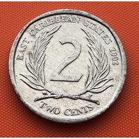 126-17 Восточные Карибы, 2 цента 2002 г.