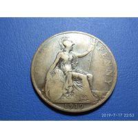 Великобритания 1 пенни 1919