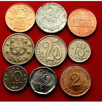 9 монеток - 9 стран. #132 Старт с 10 копеек