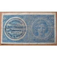 Богемия и Моравия - 1939 - 1 крона (P1b) - печать