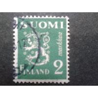 Финляндия 1945 стандарт, герб
