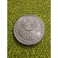 Мавритания 10 угий 2009 год