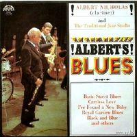 Albert Nicholas And Traditional Jazz Studio - Albert's Blues - LP - 1974