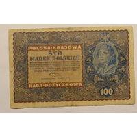 Старт с 2 рублей. 100 злотых 1919 год