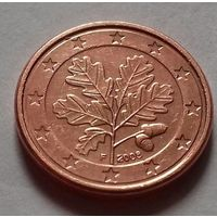 1 евроцент, Германия 2008 F