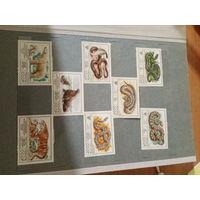 Полная коллекция чистых марок