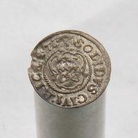 Шиллинг 1647 Рига Кристина Августа Ваза 1632-1654