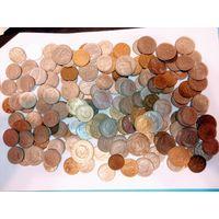 1 кг. Крупных монет всего мира не с рубля. 2 лот.
