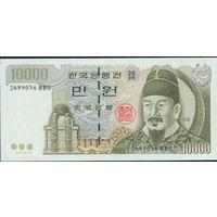 Южная Корея 2000 10000 вон UNC P