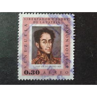 Венесуэла 1966 С. Боливар в живописи 0,30
