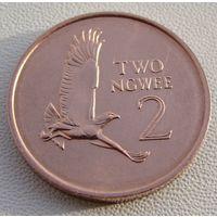 "Замбия. 2 нгве 1983 год  KM#10a  ""Боевой орёл"""